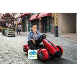 Kart Eléctrico Infantil GO CART FC-8818 12V Rojo con mando 2.4G