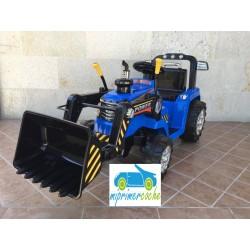 Tractor Eléctrico para Niños NEW HOLANDE STYLE 12v con mando distancia 2.4G