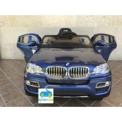 Coche Eléctrico Infantil BMW X6 AZUL 12v mando parental 2.4G