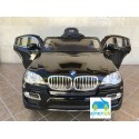 Coche Eléctrico Infantil BMW X6 NEGRO  12v mando parental 2.4G