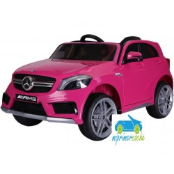MERCEDES BENZ A45 ROSA CHICLE 12V mando distancia  2.4G