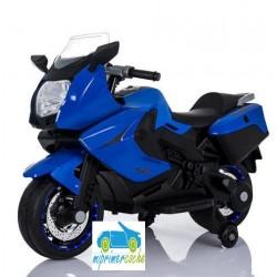 Moto eléctrica para niños BMW STYLE C650 GT AZUL  12V  con maletero