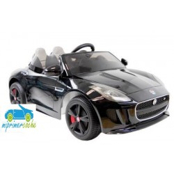 JAGUAR F-Type color negro metalizado con mando parental 2.4G