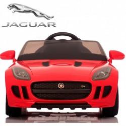 Coche eléctrico para niños JAGUAR F-Type color rojo  con mando parental 2.4G