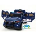 Coche eléctrico para niños POLICÍA AZUL 12V con mando a distancia 2.4G