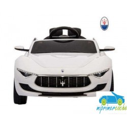 MASERATI ALFIERI BLANCO 12V PANTALLA VIDEO MP4 2.4G