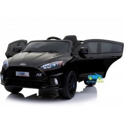 FORD FOCUS RS NEGRO 12V con mando 2.4G