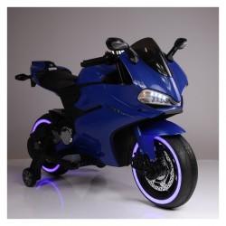 Moto eléctrica para niños DUCATI SUPERBIKE 1299 PANIGALE STYLE  AZUL 12V