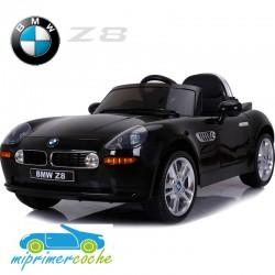Coche Eléctrico Infantil BMW Z8 NEGRO  12v mando parental 2.4G