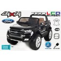 FORD RANGER PICK-UP NEGRO METALIZADO 4X4 12V PANTALLA MP4 - Versión Superior
