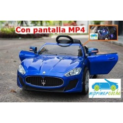 MASERATI ALFIERI AZUL 12V PANTALLA VIDEO MP4 2.4G