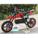 Moto eléctrica DIRK 36V 800W color rojo