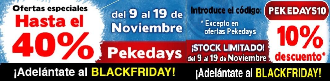 OFERTAS SEMANA PEKEDAYS DEL 9 A 19 DE NOVIEMBRE